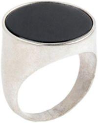 Maison Margiela Ring - Schwarz
