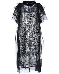 Sacai Knee-length Dress - Black