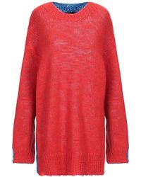 CALVIN KLEIN 205W39NYC Pullover - Rouge