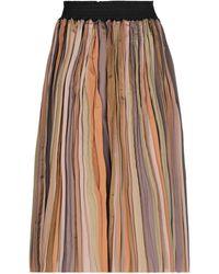 Altea Midi Skirt - Brown