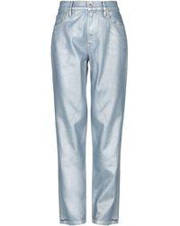 Ralph Lauren Collection Denim Trousers - Grey