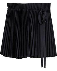 Dice Kayek Midi Skirt - Black