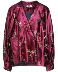 WEILI ZHENG Suit Jacket - Red