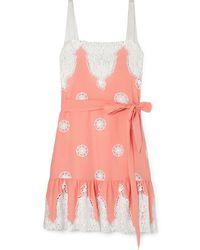 Miguelina Short Dress - Pink