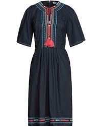 Talitha Vestido midi - Azul