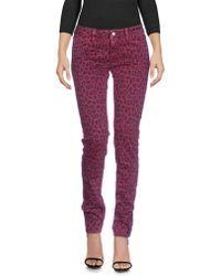 Roy Rogers Denim Trousers - Purple