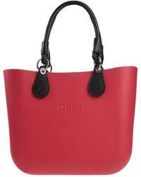 O bag Handbag - Red