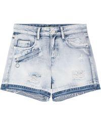 Versace Jeans Couture Denim Shorts - Blue