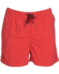 Jack & Jones Swim Trunks - Red