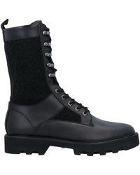 Emporio Armani Knee Boots - Black