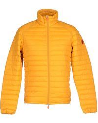 Save The Duck Synthetic Down Jacket - Orange