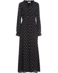 CROCHÈ Long Dress - Black
