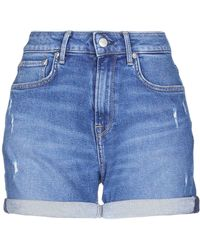 Pepe Jeans Denim Shorts - Blue