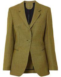Petar Petrov Suit Jacket - Yellow