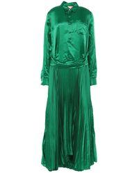 Plan C Long Dress - Green