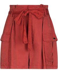 WEILI ZHENG Shorts & Bermuda Shorts - Red
