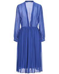 Aglini Midi Dress - Blue