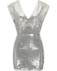 Silvian Heach Short Dress - Grey
