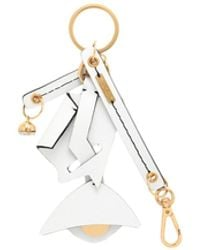 Marni Key Ring - White