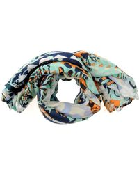 Pieces - Oblong Scarf - Lyst
