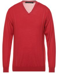 Mackintosh Pullover - Rouge