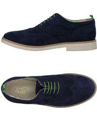 Snobs Lace-up Shoe - Blue