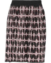 Dondup Knee Length Skirt - Black