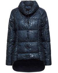 Trussardi Synthetic Down Jacket - Blue