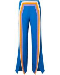 Rosie Assoulin Pantalon - Bleu