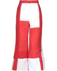 JW Anderson Casual Pants - Red