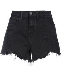 Alexander Wang Denim Shorts - Black