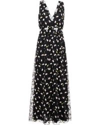 Giamba Long Dress - Black