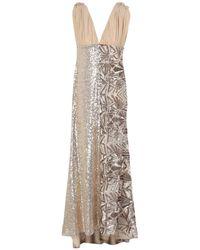 P.A.R.O.S.H. Langes Kleid - Natur