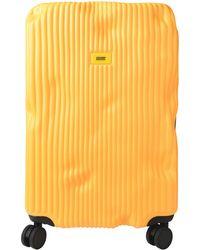 Crash Baggage Wheeled luggage - Yellow