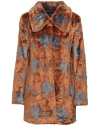 Unreal Fur Teddy Coat - Brown