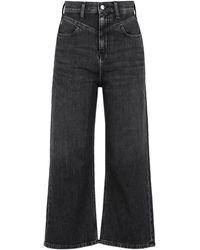 Calvin Klein Denim Trousers - Black