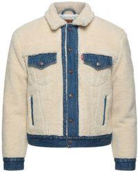 Levi's Teddy Coat - White