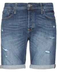 Jack & Jones Bermuda en jean - Bleu