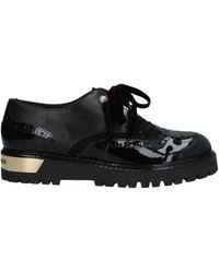 Loretta Pettinari Lace-up Shoe - Black