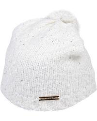 Trussardi Hat - White