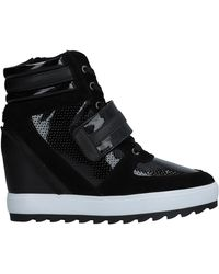 Armani Jeans High-tops & Sneakers - Black