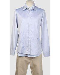 Frankie Morello Camicia maniche lunghe - Blu