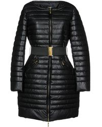 Class Roberto Cavalli Synthetic Down Jacket - Black