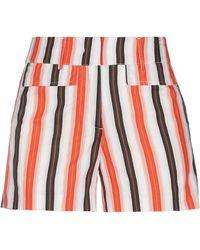 Attic And Barn Shorts & Bermudashorts - Orange