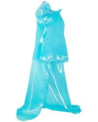 Halpern Robe courte - Bleu