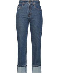 Versace Jeans Couture Denim Trousers - Blue