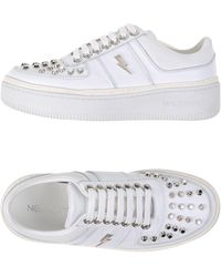 Neil Barrett Low-tops & Sneakers - White