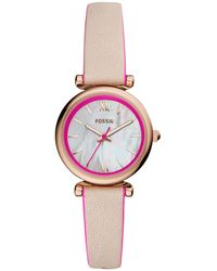 Fossil Armbanduhr - Pink