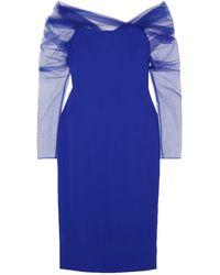 Cushnie Midi-Kleid - Blau