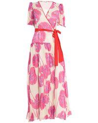 Diane von Furstenberg Robe longue - Rose